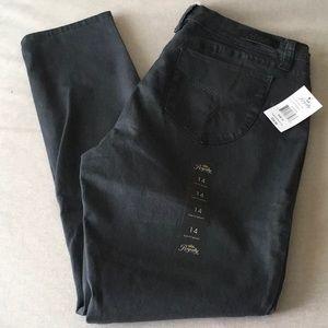 Grey slim fit skinny pant